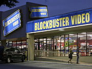 Ad spending at Blockbuster has been up and down in recent years, but this year it looks to be up.