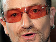 U2's Bono declared 'This is really, really fucking brilliant' at the Golden Globes broadcast on NBC in 2003.