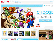 Yahoo kicked off the Brand Universe program with a dedicated site for the Nintendo Wii.