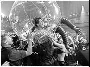 Media Guy, i.e. 'Bubble Boy,' feeling a bit trapped within the Googleplex.