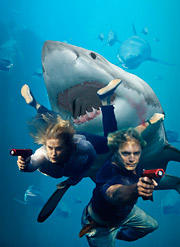 Angling for More: 'Shark Swarm' will be one of 30 Hallmark Channel original movies.