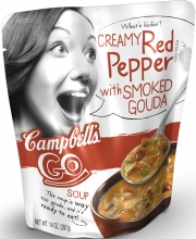 Campbell's recently-launched line of 'Go Soup'
