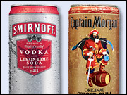 Retailers in Florida said the canned rum, vodka and whiskey cocktails were selling briskly in the test area.
