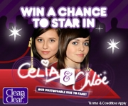The winner of the online promotion will get to star in an episode of the branded teen soap, 'Celia and Chloe.'