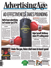 'Ad Effectiveness Takes a Pounding': Aug. 7, 2006.