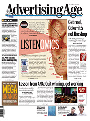 'Listenomics': Oct. 10, 2005.