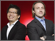 YouTube's Steve Chen and Chad Hurley: Guys, really, you're not cute anymore.