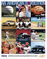 Campbell-Ewald created such iconic campaigns as 'Baseball, hot dogs, apple pie and Chevrolet' and the 'Heartbeat of America.'