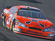 Jeff Burton's Nascar vehicle is currently branded with Cingular markings that AT&T wants to change.