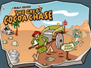 Congress is going after children-targeted online games such as the Great Cocoa Chase, on Postopia.com.