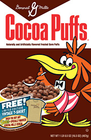 Cuckoo for Cocoa Puffs: General Mills has given Target a month-long exclusive on retro box designs for some of its best-selling cereals.