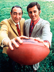 Howard Cosell and Don Meredith
