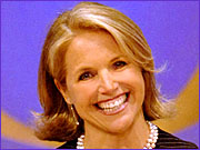 Katie Couric wowed the crowd at the CBS upfront presentation.