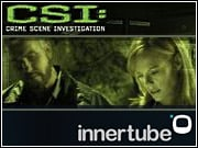 CBS shows like 'CSI' can be accessed online using the network's broadband channel, Innertube.