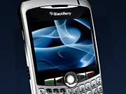 The Blackberry Curve smartphone will carry new Facebook mobile software.
