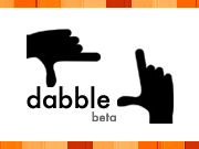 Dabble, like photo-sharing site Flickr, allows users to create playlists of videos.