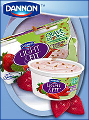If Finns can consumer 50 pounds of yogurt per year on average, why do Americans average just seven pounds? Dannon's latest market strategy is aimed at closing that quantity gap by pushing new yogurt products featuring special kinds of live bacteria cultures. | ALSO: Comment on this article in the 'Your Opinion' box below.