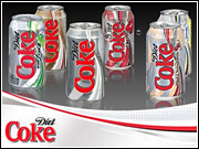 Despite being replaced by Wieden, DraftFCB remains on the roster and will break a print campaign for Diet Coke in January and February.