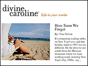 DivineCaroline.com targets adult women, and two others set to launch will target young women and teens.