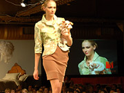 Well-dressed hounds take to the runway in dog fashion shows.