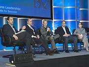 Ad Age's new publisher, Scott Donaton, moderates a panel, 'The Future of Content.'