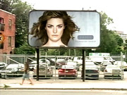 A billboard from Dove's Grand Prize-winning 'Evolution' campaign, created by Ogilvy, Toronto.