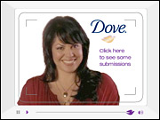 Unilever's campaign for Dove Cream Oil is a consumer-generated-ad contest in which the winner spot will air during the Oscars.