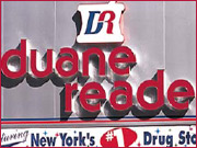 The Utah-based In-Store Broadcasting Network hopes to reach leading media buyers with its installation of TV advertising in Manhttan's Duane Reade chain of drugstores.