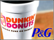 A P&G spokesman said the Dunkin' Donuts brand will be distributed nationally, though its strength is expected to lie primarily in the same Northeast markets as the Dunkin' Donuts chain.