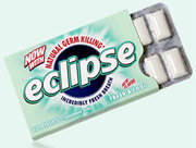 Tribal DDB has done work for Wrigley's Eclipse brand.