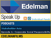 A site from which ad agencies can learn a lot is Edelman.com, featuring a blog and podcast landing page full of content produced by employees. | ALSO: Comment on this column in the 'Your Opinion' box below.