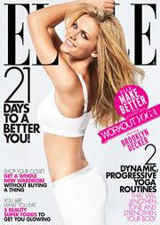 Model Brooklyn Decker will be at the center of Elle's 'Make Better' multiplatform initiative.