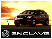Buick's VP-marketing and advertising called the new Enclave crossover 'smoking hot.'