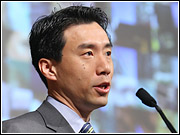 David Eun, Google's 'goodwill ambassador,' said Google's content partners received payouts totaling $976 million during the fourth quarter of last year.