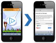 Evidon mobile icon