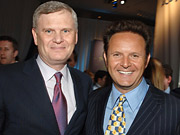 Randy Falco and Mark Burnett