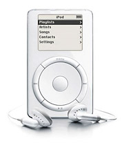 Apple spent $28.5 million advertising iPods and iTunes in 2001, the year it introduced the first-generation iPod.