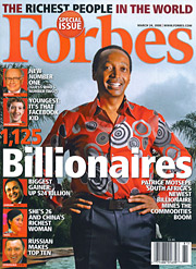 Forbes may be the most thoughtful of the business mags, the one that cares least about the personalities of the execs and companies it covers and most about their place in the larger scheme of things.