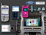 Ford and Microsoft's Sync lets drivers seamlessly connect cellphones, MP3 players and other devices to their cars.