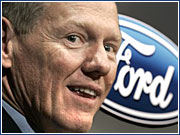 Alan Mulally, who was president and CEO of Boeing Commercial Airplanes, has been named president-CEO of Ford Motor Co.
