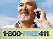 Free phone listings -- anywhere, anytime.