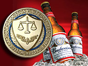 The Federal Trade Commission is being asked to tighten the rules on alcoholic beverage advertising.