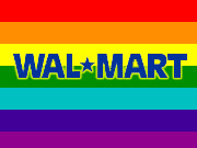 The initiative comes as Wal-Mart aims to broaden its appeal and woo both upscale and urban markets, but this is not the first time Wal-Mart has attempted to appease critics in the gay and lesbian community.