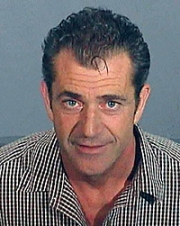 Mel Gibson's mug shot