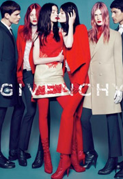 Givenchy was nominated for outstanding mainstream print campaign.