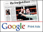 If the Print Ads test doesn't deliver new advertisers, of course, you can bet newspapers will do everything possible to kick Google back off its turf.