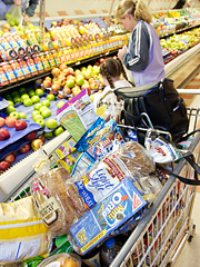 The study found that 48% of people planned to spend their gas savings on groceries.