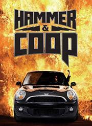 The 'Hammer & Coop' theme is being played up in various nontraditional channels as well as in out-of-home and magazine ads.