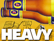 Heavy.com and Foster's Lager have partnered to create an online dating game.