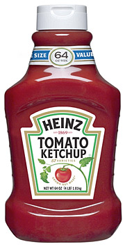 According to Heinz's consumer research, the new 'grown-not-made' label confirms the 'wholesomeness of Heinz tomato ketchup' for 68% of consumers.
